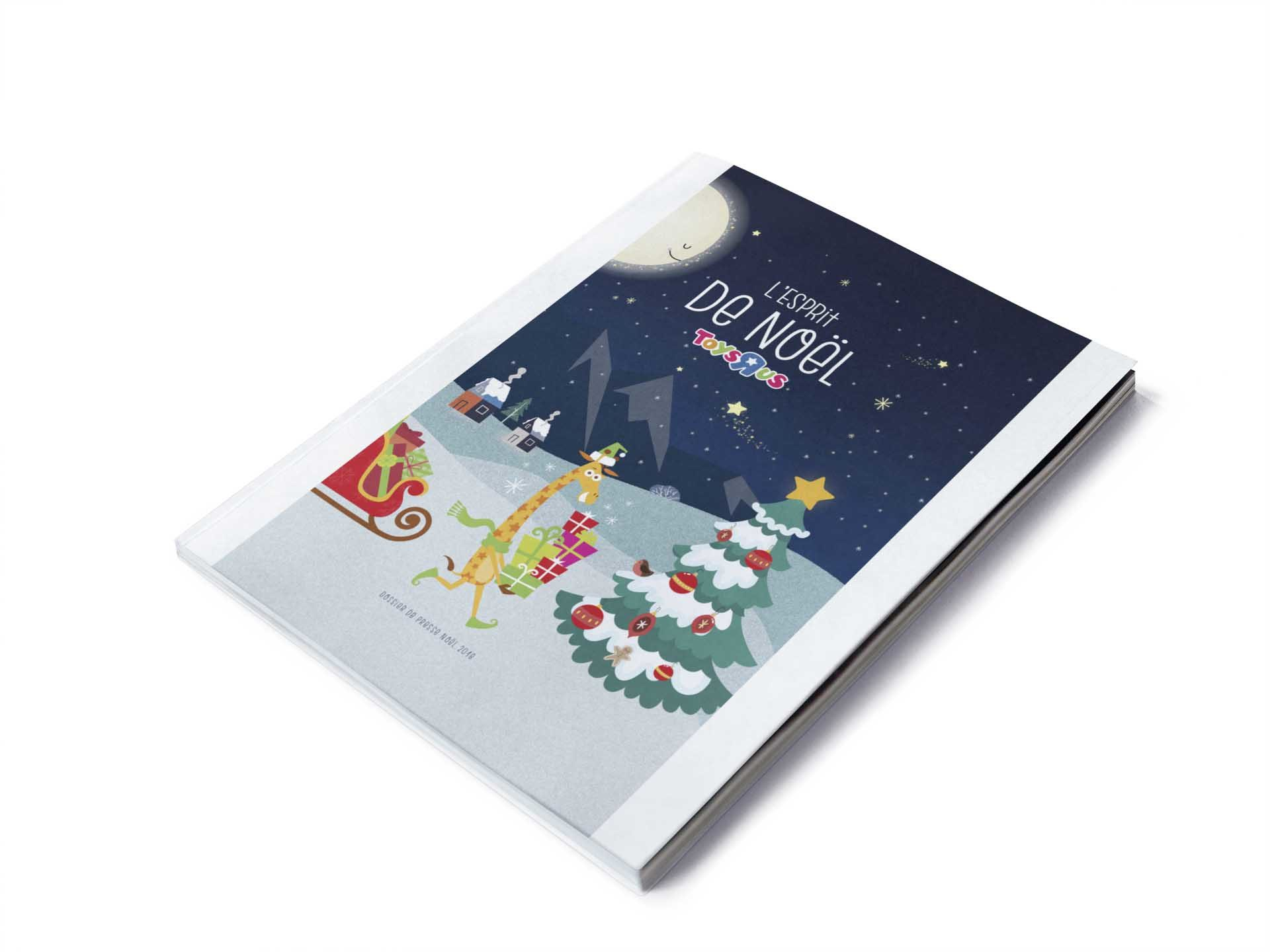 Couverture de l'esprit de Noël par Toys'r'us