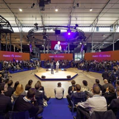 conférence lors de la France Digitale Day
