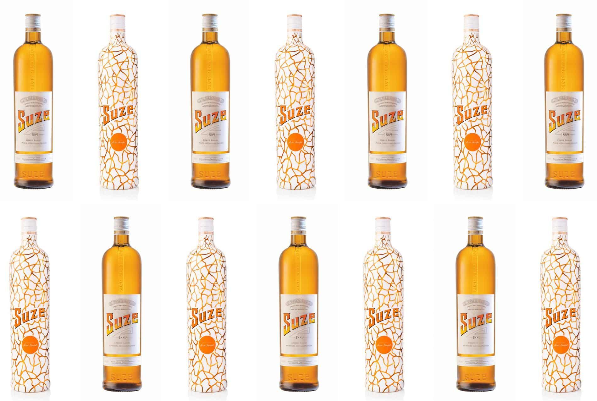 des bouteilles suze