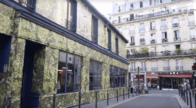 Bar éphémère Biocoop dans Paris