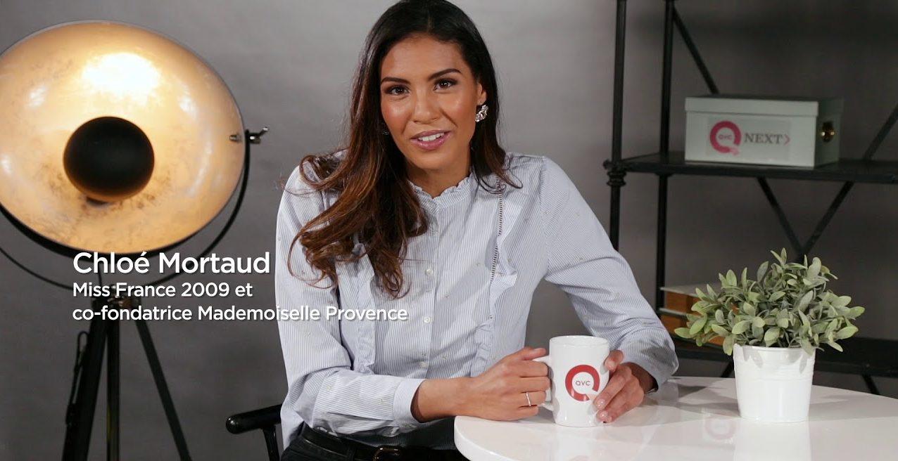 Portrait de Chloé Mortaud pour QVC Next