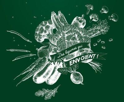 Logo de l'événement Des Légumes qui Envoient de Bonduelle