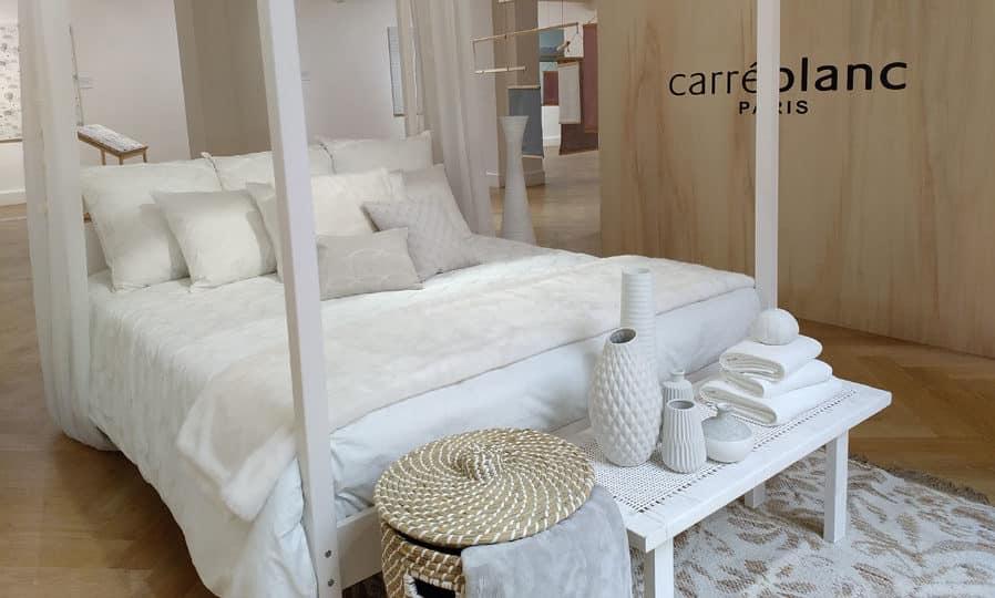 Du linge de lit Carré Blanc et autres accessoires