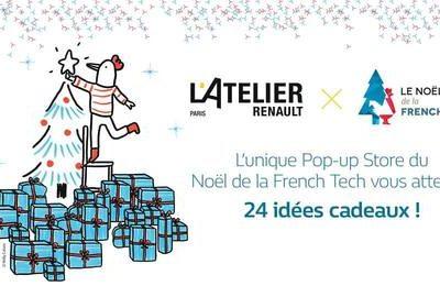 Affiche de l'événement Le Noël de la French Tech de l'Atelier Renault