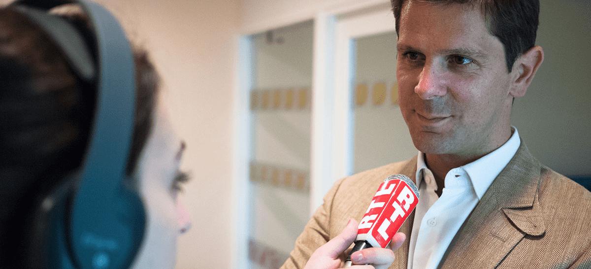interview du représentant de Ma Place en Crèche par RTL