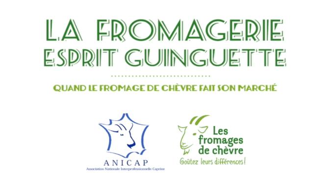 La fromagerie esprit guinguette d'ANICAP