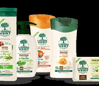 Gamme de produits L' Arbre Vert