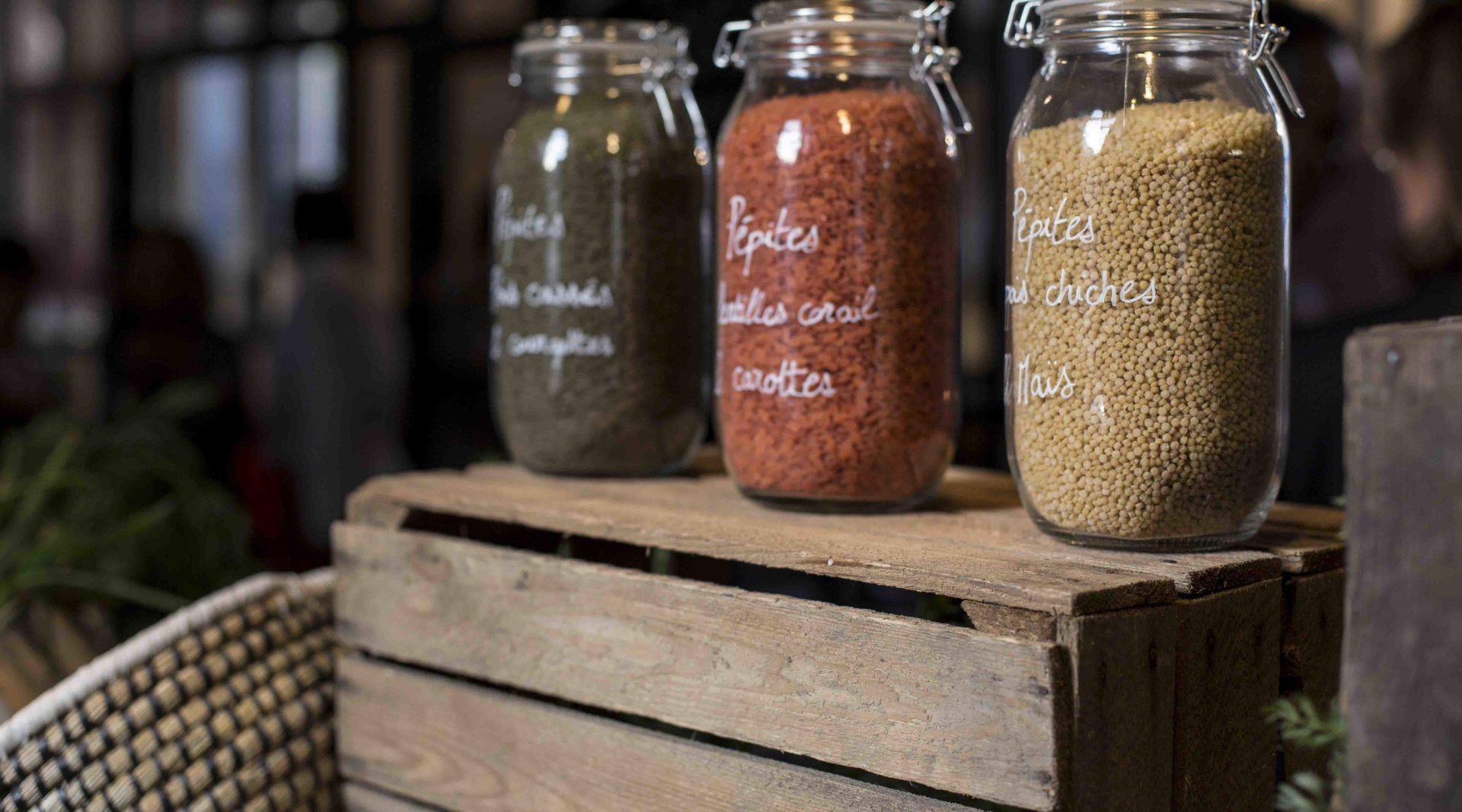 Pots de graines Les Légumes qui Envoient de Bonduelle