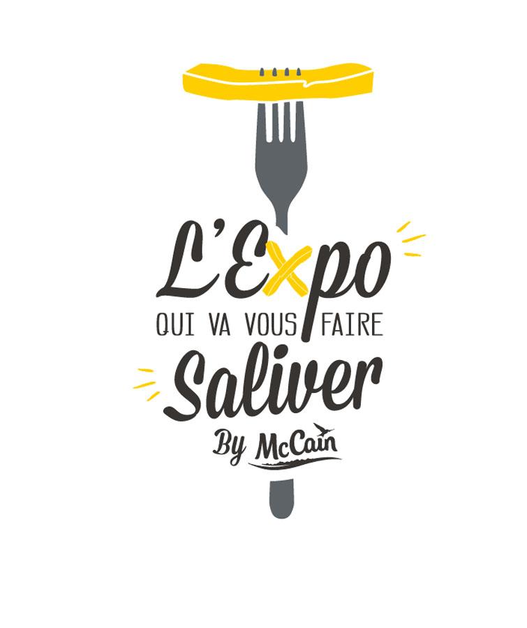 Logo de l' expo McCain : L'Expo qui va vous faire saliver
