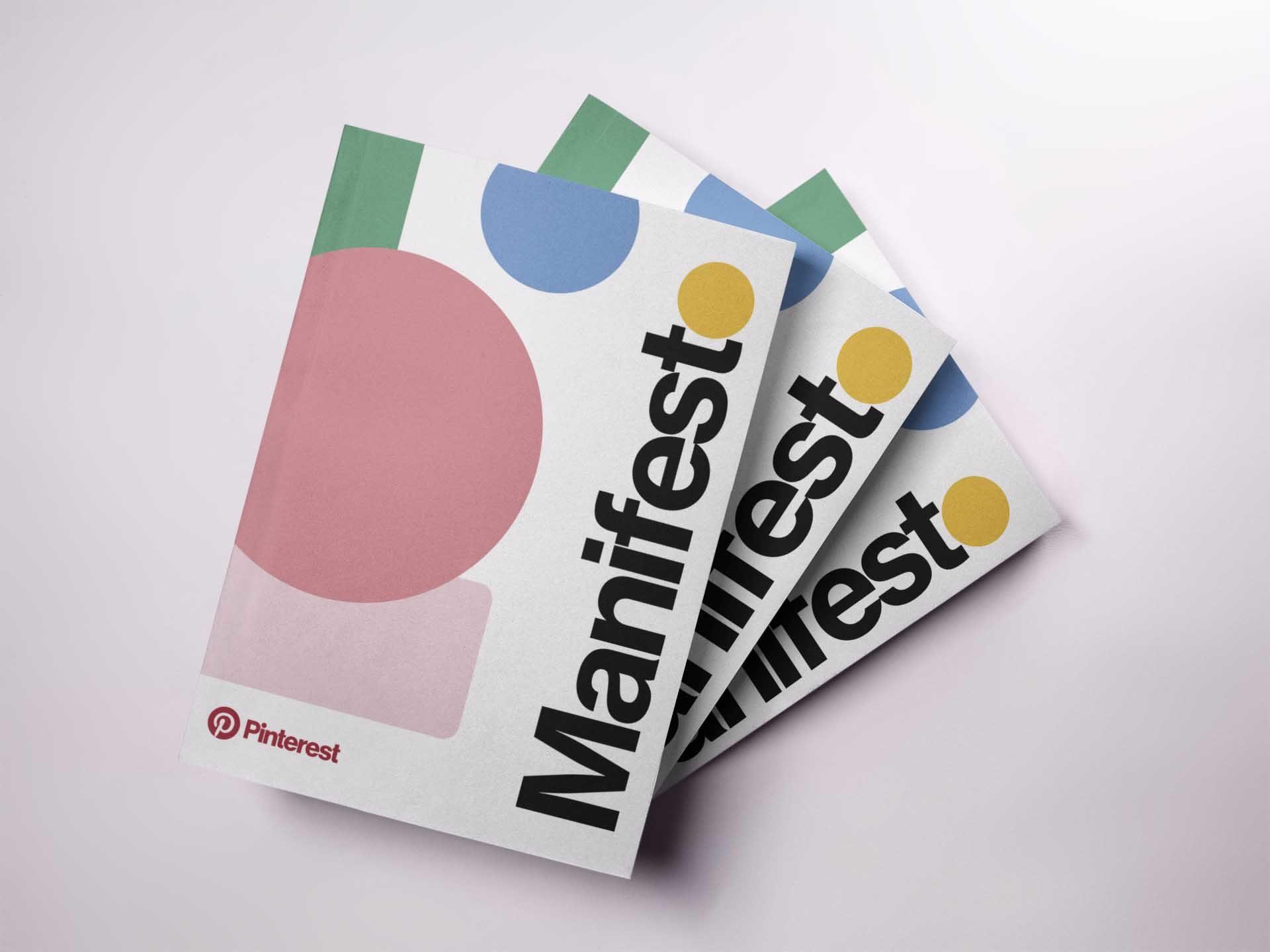 couverture du manifesto de Pinterest par Marie Antoinette